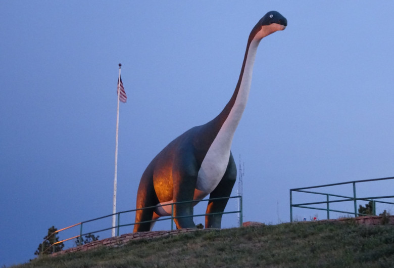 Apatosaurus at Dinosaur Park Rapid City