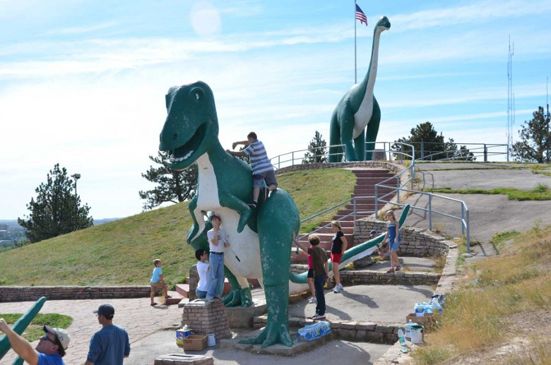 Climbing Favorite Dinosaur Rapid City
