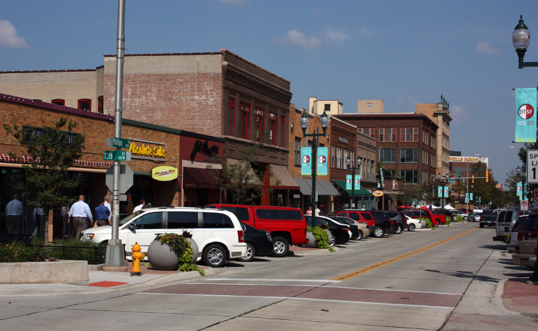 Downtown Sioux Falls SD