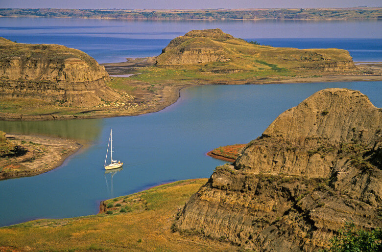 Lake Sakakawea North Dakota