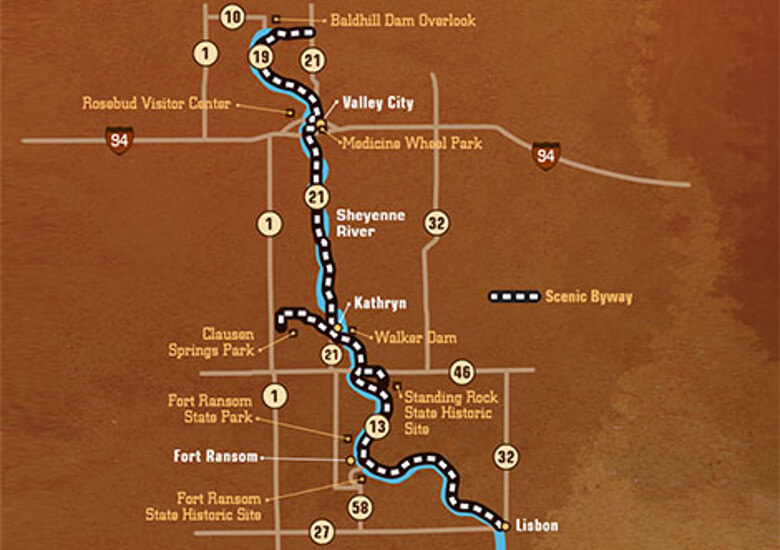 Sheyenne River Valley National Scenic Byway