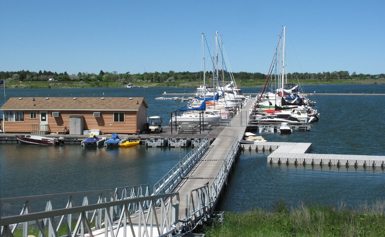 Marina at Lake Sakakawea ND