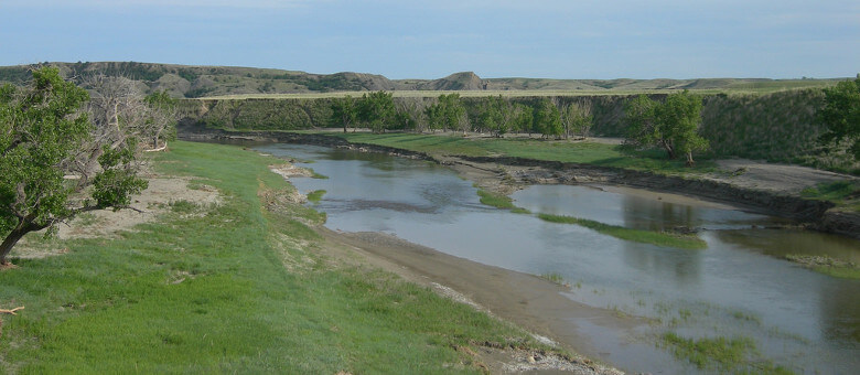 North Fork of Moreau River South Dakota