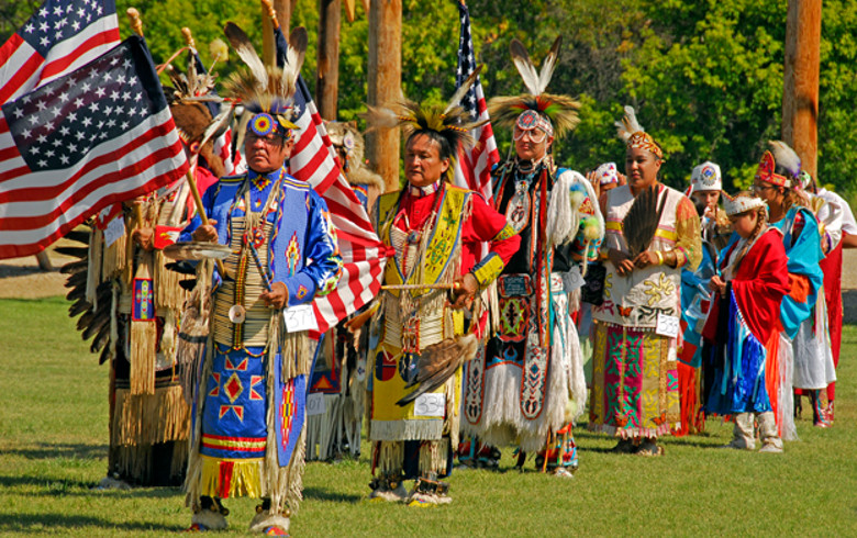 Native Americans Pow Wow in Black Hills