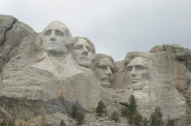 Mount rushmore national memorial south dakota united states for Interesting facts about mount rushmore
