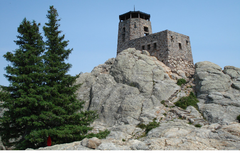 Watch Tower at Harney Peak