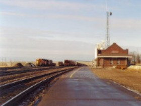 Williston Amtrak Station