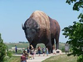 Worlds Largest Buffalo Statue